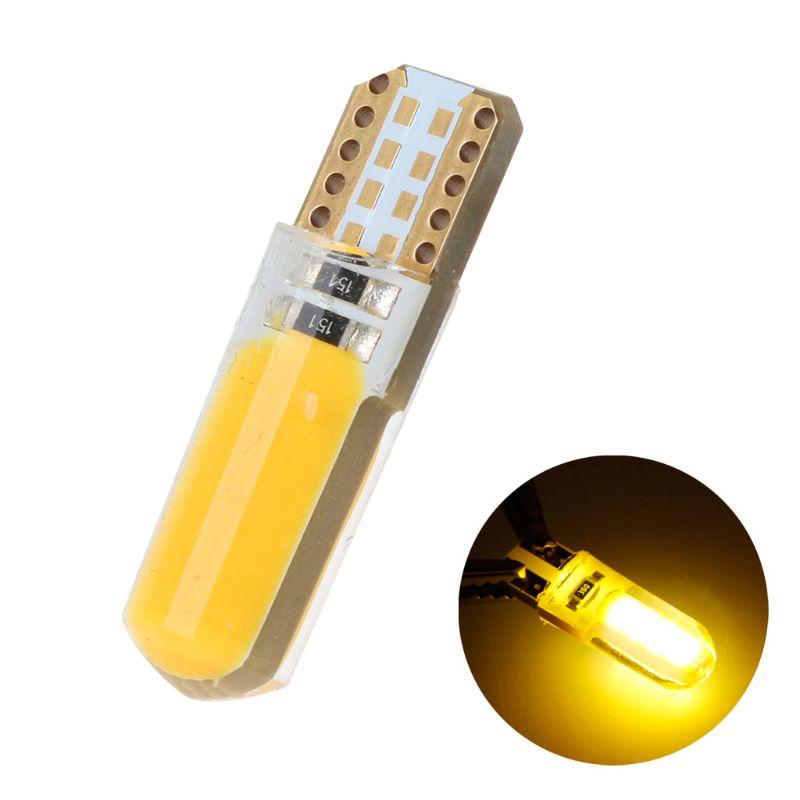 2020 nouveau 1x blanc chaud T10 194 168 W5W 20 SMD silice Super lumineux voiture lumière LED ampoule lampe