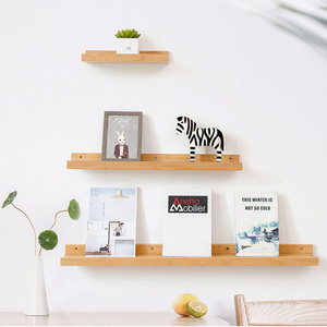 Floating Shelves Trays Bookshelves and Display Bookcase Modern Wood Shelving Units for Kids Bedroom Wall Mounted Storage Shelf