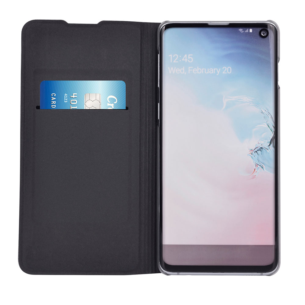 Leather Wallet Case Flip Cover For Samsung Galaxy A10 A 10 2019 GalaxyA10 SM A105 A105F <font><b>A105FN</b></font> DS 360 Full Protection Phone Case image