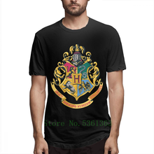 Hogwarts Gryffindor Ravenclaw Hufflepuff Slytherin Magic โรงเรียนป้าย T (China)