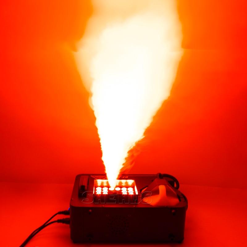 900W Smoke Machine RGB 3in1 DJ Disco 24x9W 1500W Wireless Remote Fogger Ejector Christmas Party 400W Fog Machine DJ Stage Effect