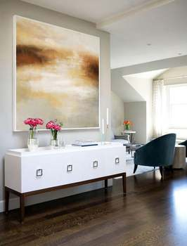 Large Sea Abstract Painting Sea Painting Beige Painting Ocean Landscape Painting Ocean Art Painting Wall Art Office Decor фото