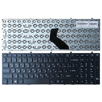 Russo preto NOVO Teclado para DNS Clevo W370ET W350ET W370STQ W350ST W355 W670SC W350SS W670SR W370SS RU teclado do laptop