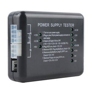Питание светодиодный 20/24 булавки для блок питания ATX SATA Тестер HDD проверки метр ПК компьютер тестер для ПК-мощность