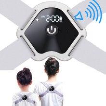 LCD Screen Brace Support Belt Adjustable Back Posture Corrector Smart Clavicle Spine Back Shoulder Lumbar Posture Correction