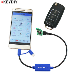 Original KEYDIY Mini KD Key Maker Generator Remotes Warehouse in Your Phone Support Android Make More Than 1000 Auto Remotes(China)