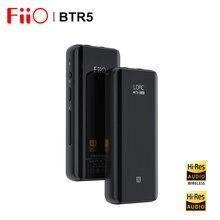 Fiio BTR5 ES9218P USB DAC Bluetooth 5.0 kulaklık amplifikatörü AMP alıcı 3.5/2.5mm çıkış AAC SBC aptX LDAC araba ses anfisi