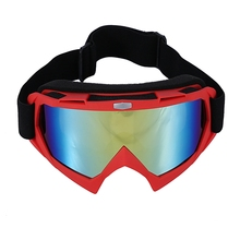Motorcycle Goggles Windproof Anti-UV Cycling Goggles Snow Ski Face Mask Sport Racing Cycling Motor Helmet Goggle tanie tanio Poliester