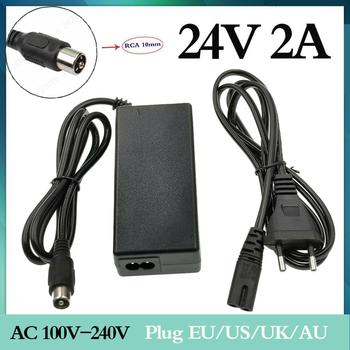 1 pc best price 24V 2A lead-acid battery charger electric scooter 24 volt ebike wheel loader golf cart for lawn