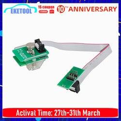 EEPROM Adaptor 8Pin Line Klip SOIC 8 SOP8 Tes Klip EEPROM Klip Socket Klip Mendukung Xprog V6.12/Upa/orange/CG Pro 9S12/Iprog