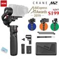 Zhiyun Crane M2 Gru M2 3 Axis Handheld Gimbal Stabilizzatore Portatile All in One per Fotocamere Mirrorless Smartphone Telecamere di Azione