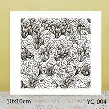 ZhuoAng Tumbled sea surface Transparent seal / sealed DIY scrapbook album decoration card seamless