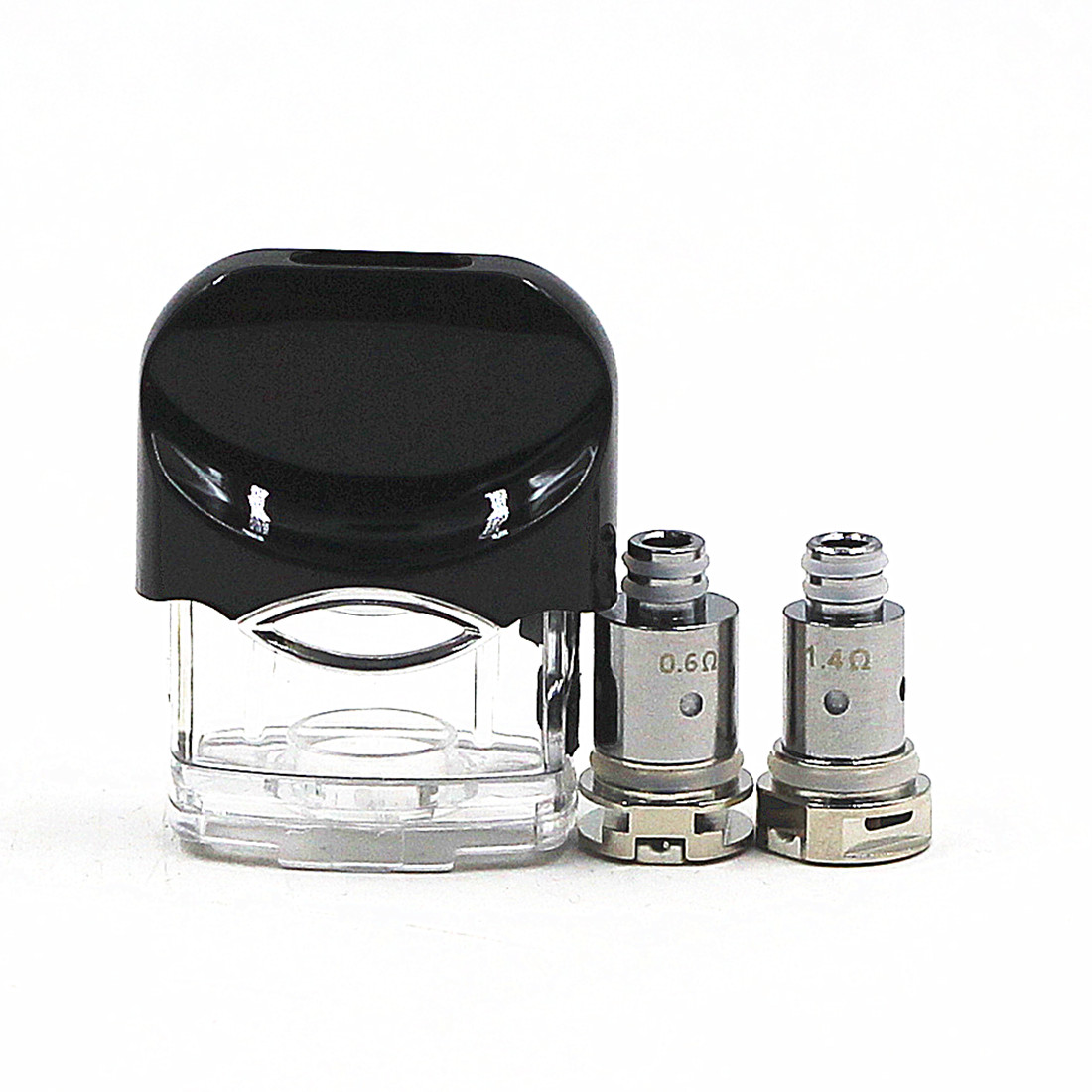 Noord Replacement Pod Kit W/ 0.6ohm 1.4ohm Mesh Replacement Coils Nord-atomizer
