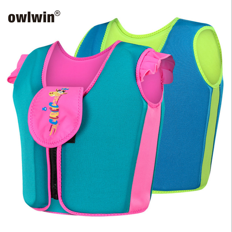 Life Jackets Baby Child Life Vest Water Sports Swimwear S M L 10-35kg Boy Girl Chlidren Children's Swimwear Buoyancy Vest