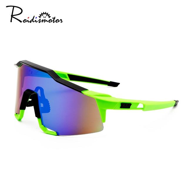Roidismtor ciclismo eyewear bicicleta óculos de sol dos esportes dos homens mtb ciclismo estrada óculos de proteção à prova vento 1