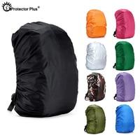 PROTECTOR más táctico 20-70L mochila cubierta de la lluvia portátil ultraligero maletero Protector a prueba de polvo hombro al aire libre