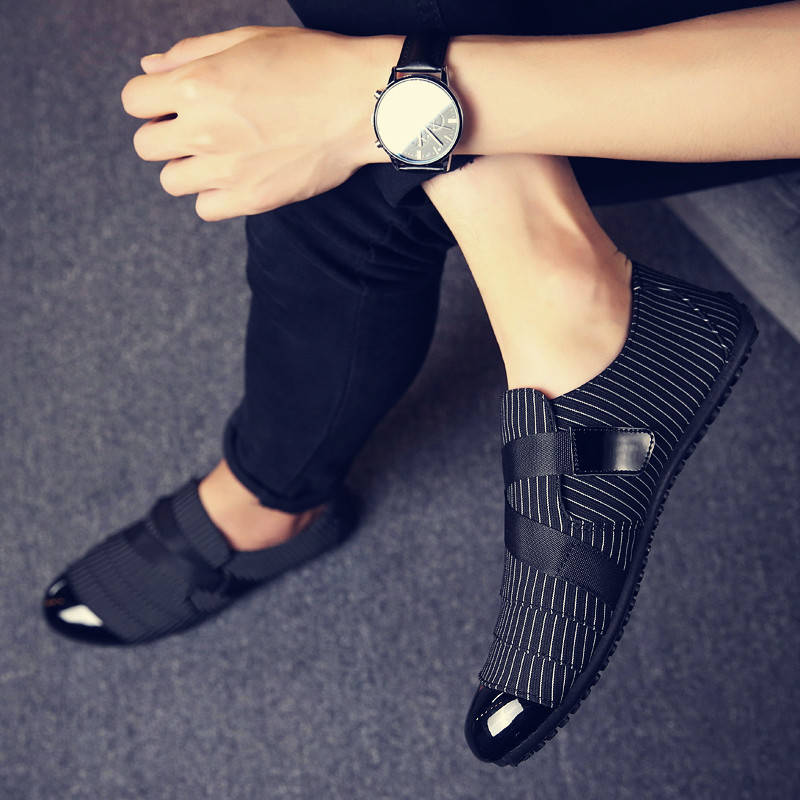 Men Shoes Walking Ventilation Casual Male Men Sapato Masculino Canvas Slip Driving Moccasin Loafers Flat Wedding Shoes Men 2020