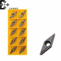 Gratis Verzending! Hot Koop Turning Cutter Gereedschap Draaien Blade VBMT160404/VBMT160408 VP15TF/UE6020 Cnc Carbide Draaiwisselplaten