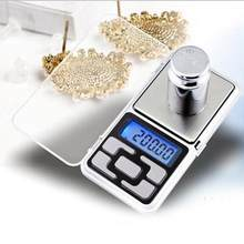 Elektronik Digital Pocket Scale 0.01g Presisi Perhiasan Mini Timbangan Backlight Timbangan untuk Dapur 100/200/300/500g(China)