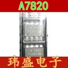 10 шт./лот HCPL-7820-500E HCPL-7820 A7820 лапками углублением SOP-8