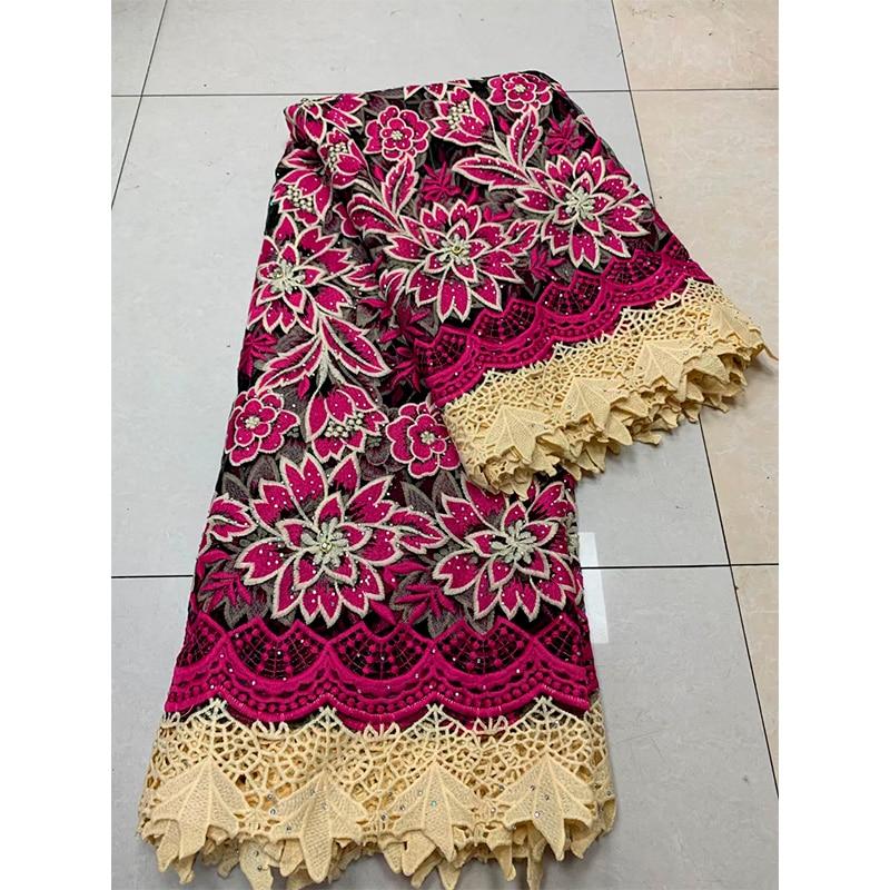 festa de casamento feminino renda líquida suíça tecido de renda 5 metros