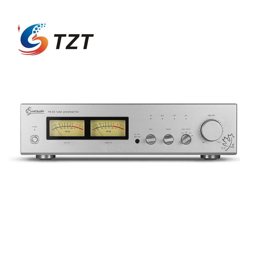 TZT 6N11 Vacuum Tube Preamplifier Class A Single-Ended XLR Balanced Audio Preamp ARC LS22