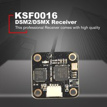 цена на Mini DSM2/DSM/X Wide range Receiver for Spektrum Satellite RC Transmitter Remote Controller F3 Flight Controller RC Racing Drone