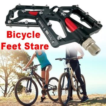 1 Pair MTB Mountain Road Bike 3 Bearings Pedals flat Platform Bicycle Pedal