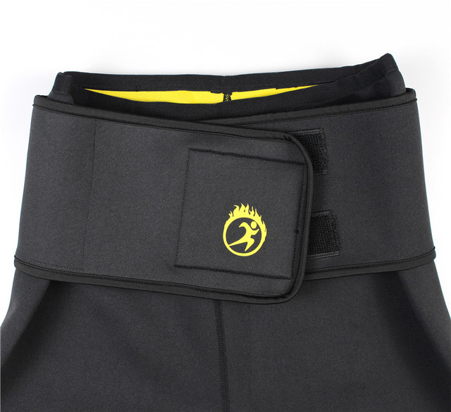 Women's Neoprene Sauna Slimming Pants Gym Workout Leggings Shapers