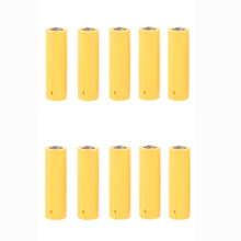 10Pcs AA AAA ขนาดแบตเตอรี่ปลอมติดตั้งกระบอกสูบตัวยึดตัวนำ