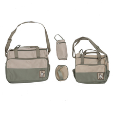 Bags Large bag Khaki + Bag Lunch and Bottle Layer Inside Outside