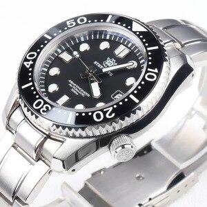 Image 3 - STEELDIVE 1968 SKX001 Automatic Watch Men Undefined Dive Watch 300M C3 Luminous Watch Men Automatic NH35A Mechanical Watches Men