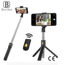 Bezprzewodowy statyw Bluetooth Selfie Stick składany uchwyt do Xiaomi Redmi Huawei iPhone 12 Samsung Smartphone Android ios uchwyt