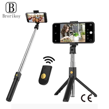 Bracket Stick-Tripod Ios-Holder Smartphone Foldable Huawei Bluetooth Selfie Xiaomi Android