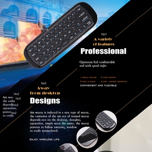 Image 3 - W1 Air Mouse Keyboard 2.4G Hz Fly Mouse Remote Control with Keyboard for Android Box TV Box Smart TV