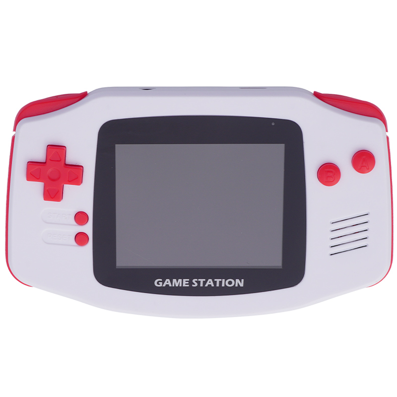 Powkiddy Retro Portable Mini Handheld Game Console 8 Bit 2.8 Inch Hd Color Lcd Kids Game Player Built-In 400 Games Support Tv Av