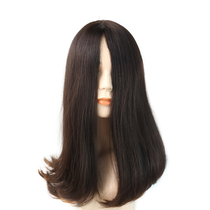Jewish Wig Kosher Wigs European Hair Wig Natural Straight Human Hair Bob Wigs For Women Virgin Hair Rosa Queen