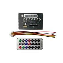 DC 5 В/12 в автомобильный Bluetooth MP3/WMA/WAV/APE декодер плата пластина аудио модуль карта USB MP3 динамик аксессуары