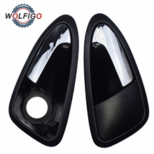 Door-Handle Seat Ibiza Car-Interior Front-Left Chromed Right WOLFIGO for 2009 6J1837113A