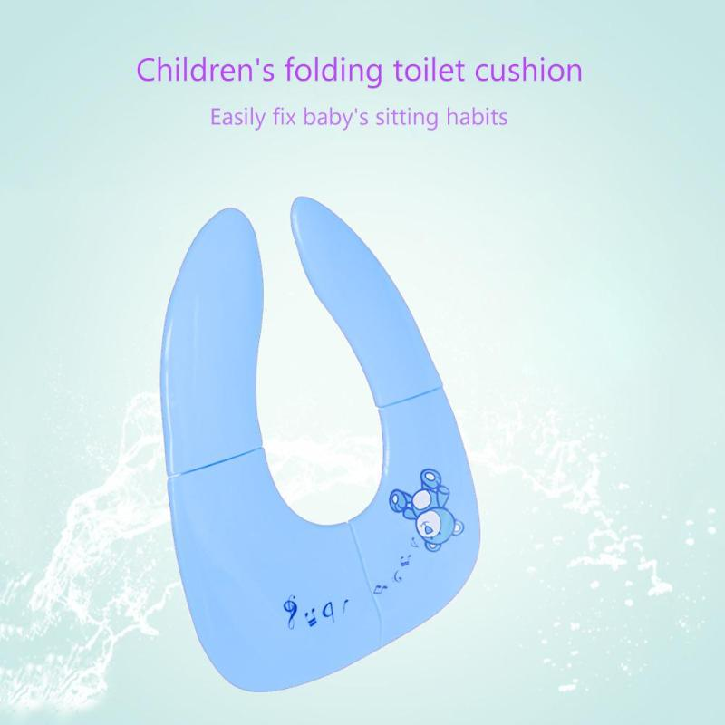 Potty Training Toilet Seat Toddler Travel Portable Foldable Easy Clean Comfort Safety with Handbag Cover Non Slip Pads | Happy Baby Mama
