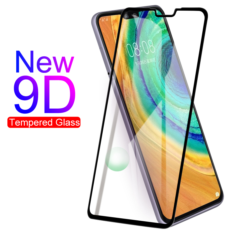 New 9D Tempered Glass For Huawei Mate 9 10 20 30 Lite Mate9 Screen Protector On Mate10 Mate20 Mate30 Full Cover Protective Glass