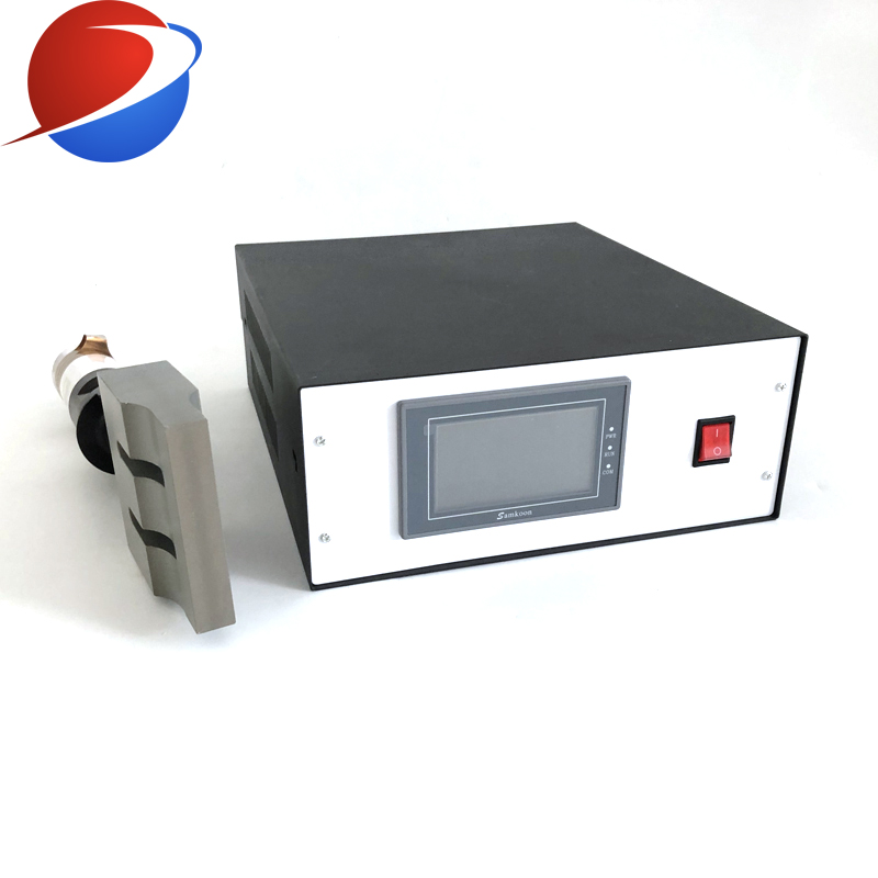 20khz Ultrasonic Welding Generator For 2000W Nonwoven Ultrasonic Welding Generator And  Transducer With Horn