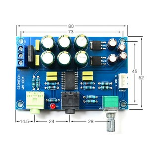 new TPA6120 Headphone Amplifier Board HIFI TPA6120A2 Enthusiast Headphones AMP Amplificador Zero Noise Diy New!