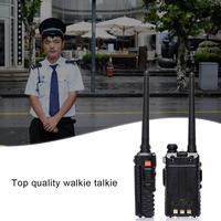 "uhf dual Baofeng BF-F8 + שדרוג חדש מכשיר קשר משטרת שתי דרך רדיו 5W UHF VHF Band Dual החיצונית ארוך טווח Ham מקמ""ש (4)"