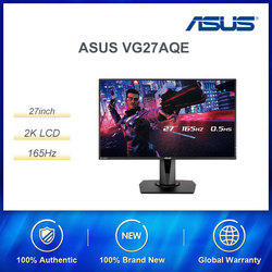 ASUS VG27AQE New IPS Desktop Computer 2K LCD 27 inch 155HZ Refrash Gaming E-sports Monitor 1ms MPRT/DisplayPort 1.2 /HDMI v2.0
