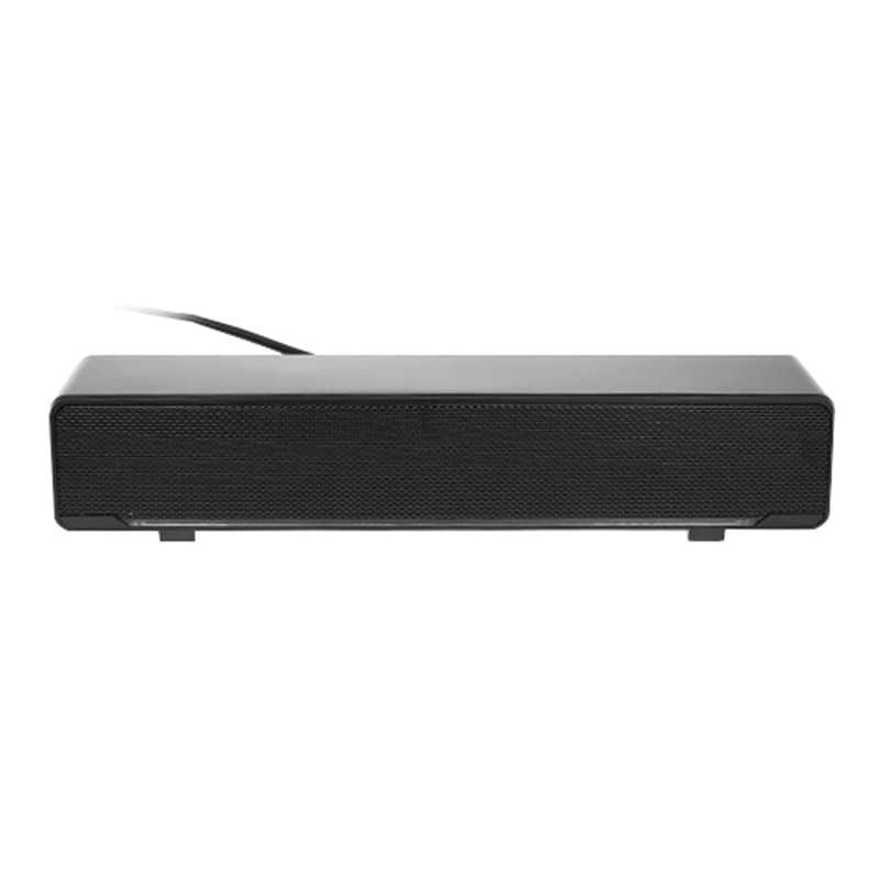 V-196 Kabel USB Speaker Komputer Bar Stereo Subwoofer Pemutar Musik Yang Kuat Bass Surround Sound Box 3.5Mm Audio Input untuk PC Lap