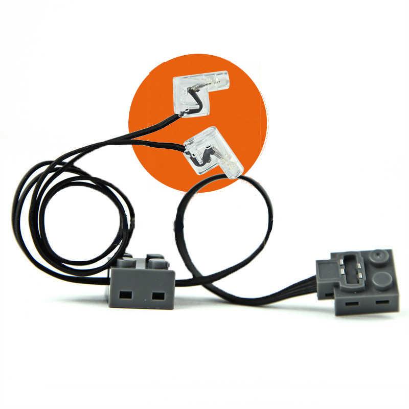 Teknik serisi elektrik güç fonksiyonları Motor seti modeli yapı taşları ile uyumlu Legoinges 8293 eğitim DIY oyuncaklar