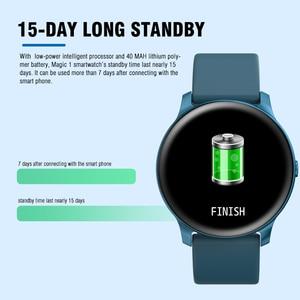 Image 4 - Смарт часы KOSPET Magic для мужчин, монитор сердечного ритма, кровяное давление, фитнес, женский браслет, спортивные KW19, умные часы для детей, браслет