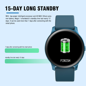 Image 4 - Kospet Magic Smart Horloge Mannen Hartslagmeter Bloeddruk Fitness Vrouwen Armband Sport KW19 Smartwatch Voor Kid Polsband
