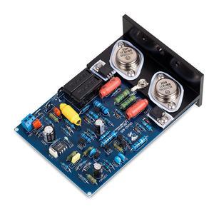 Image 3 - Nobsound hi fi 2 pcs 파워 앰프 보드 quad405 알루미늄 각도의 2.0 채널 앰프 보드 mj15024